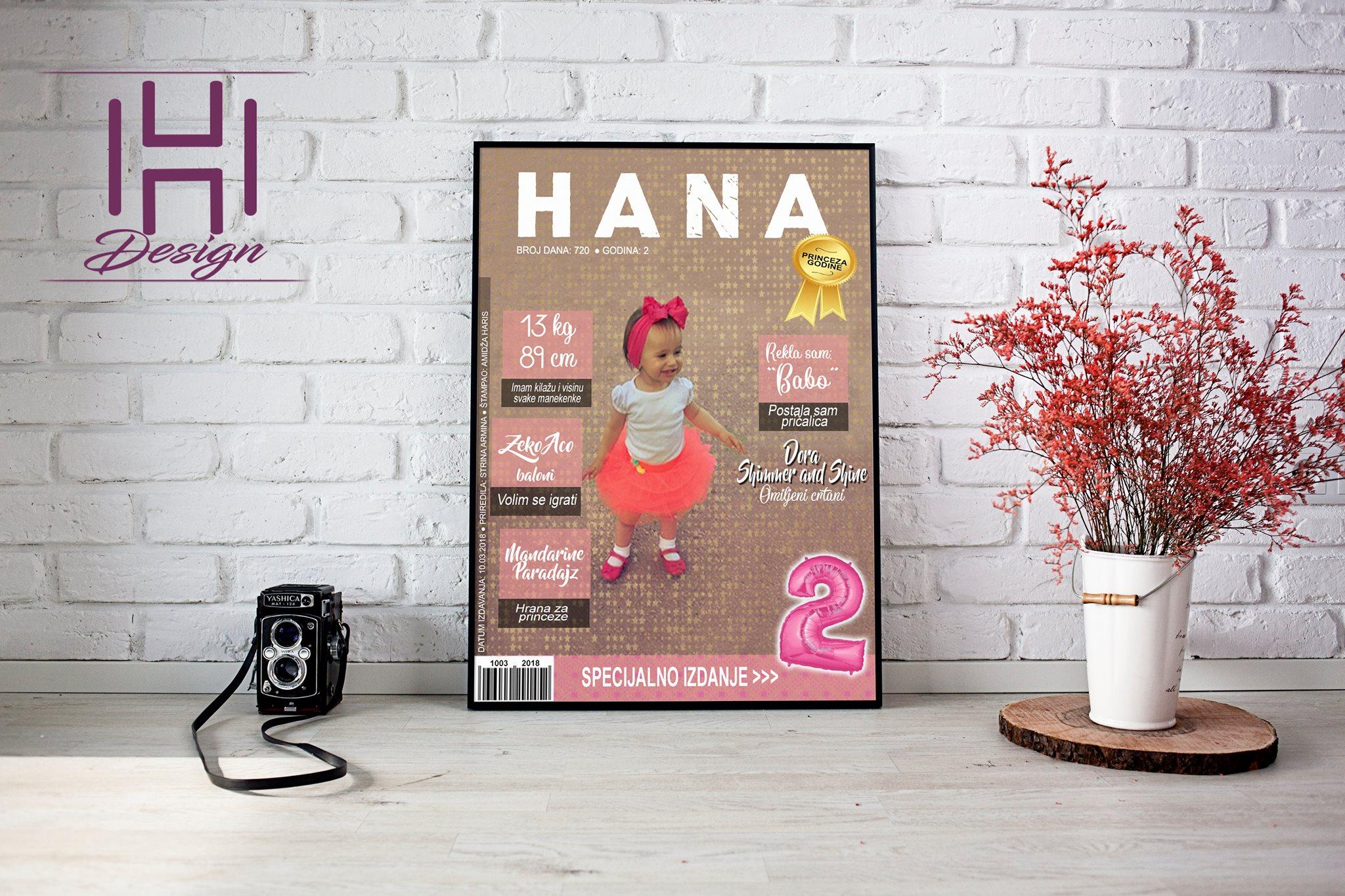 """Kreativna Hana stvorila je posao iz hobija: """"Ono što će Vaš posao učiniti posebnim nikada ne košta puno"""""""