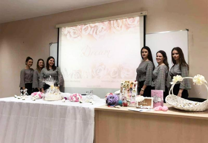 Studentice Ekonomskog fakulteta u Mostaru izradile marketing plan za Wedding decor DREAM