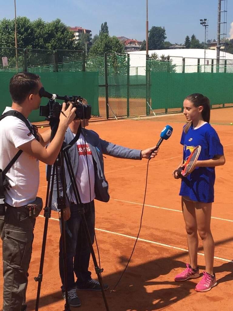 """Suana Tucaković: """"Cilj je da postanem WTA igračica"""""""
