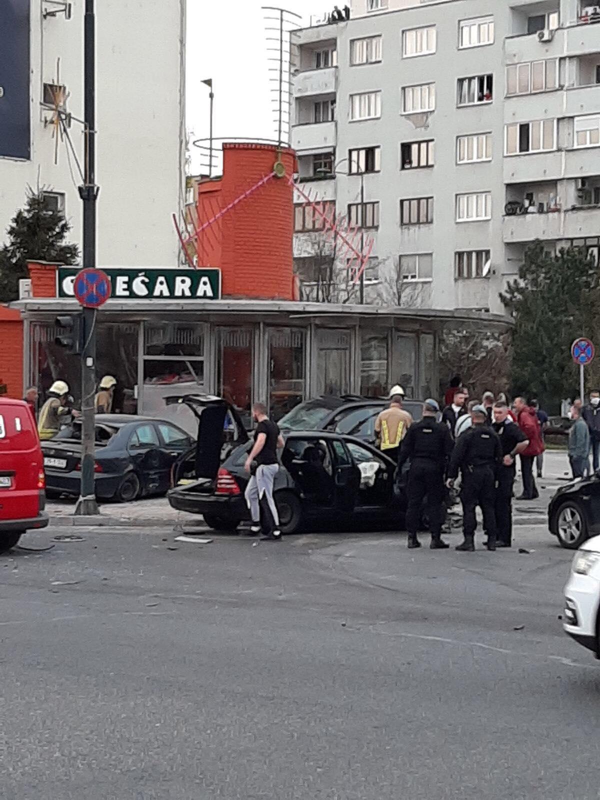 Teška saobraćajna nesreća u Sarajevu