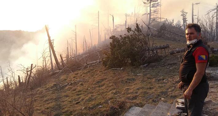 Požar iznad Mostara širi se neočekivanom brzinom