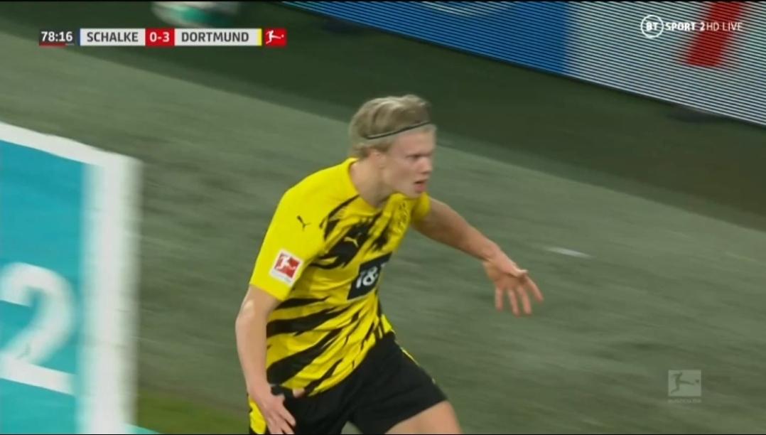 Haaland je uvijek na pravom mjestu! Još jedan pogodak u mreži Schalkea