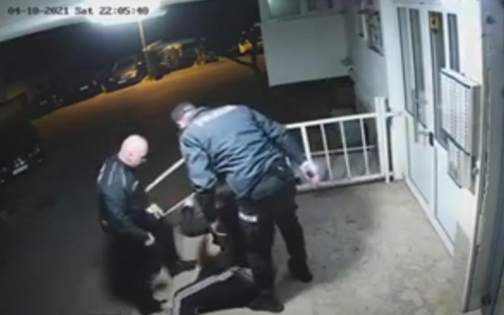 Objavljena snimka policijske potjere za mladićem u Mostaru